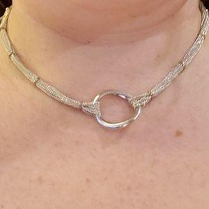 Jewelry - Multi strand silver necklace